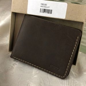 NWT KIKO leather wallet